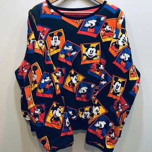Vintage 1980s Mickey & Co. Reversible Sweatshirt